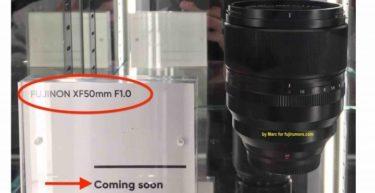 富士フイルム「XF 50mm F1.0」はまもなく登場するかも?!