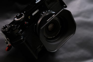 X100V用のJJC製レンズフードを購入。|カスタマイズの幅がクセになる。