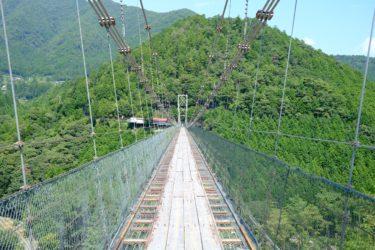高さ54m、長さ297m、めっちゃ揺れる吊り橋を渡ってきた!|奈良 谷瀬の吊り橋