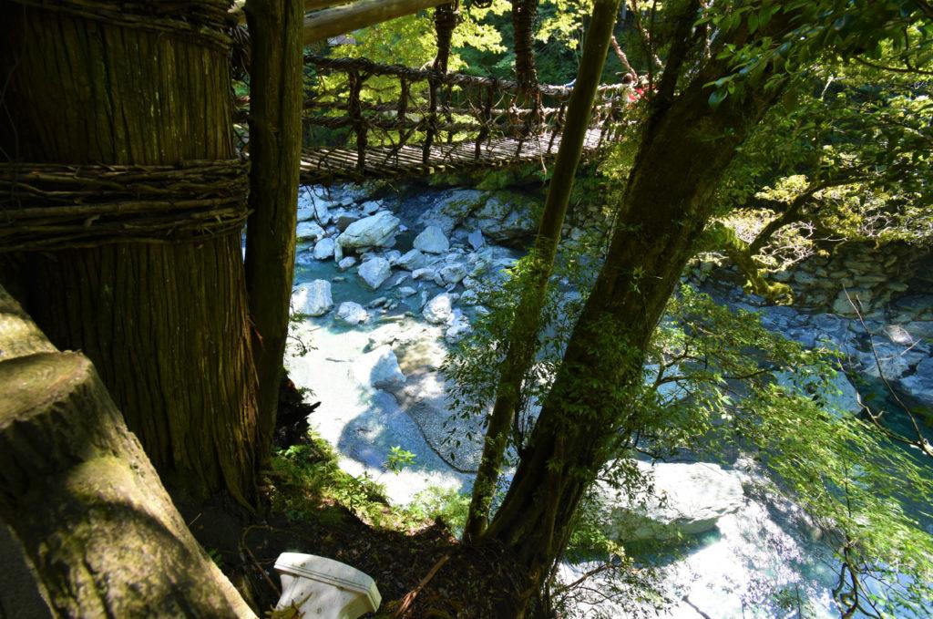 徳島旅行 祖谷のかずら橋
