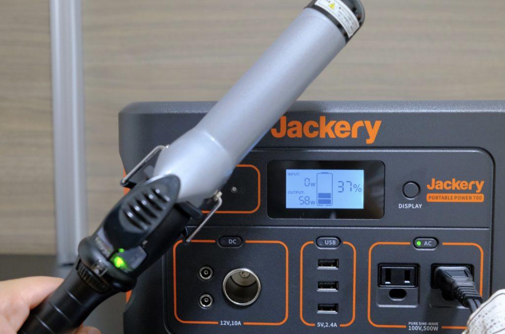 Jackery 700 レビュー