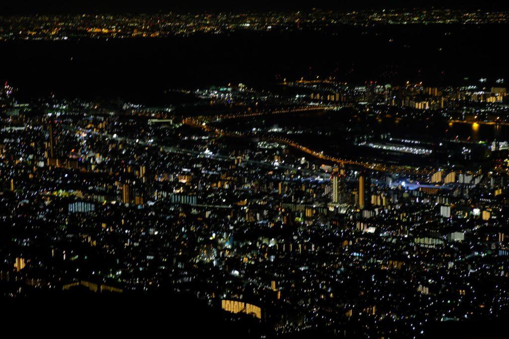 神戸 1000万ドルの夜景