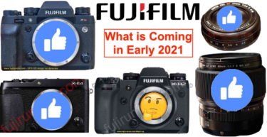2021年の初めに「小型のGFX100」「GF80mmF1.7」「XF27mmF2.8 MKⅡ」「X-E4」が発表される!?