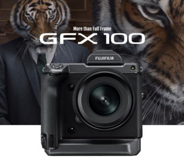 富士フイルムの小型GFX100はボディ内手ブレ補正を搭載し「GFX50S」と同様のサイズになる!?