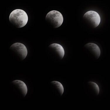 皆既月食……撮れなかった