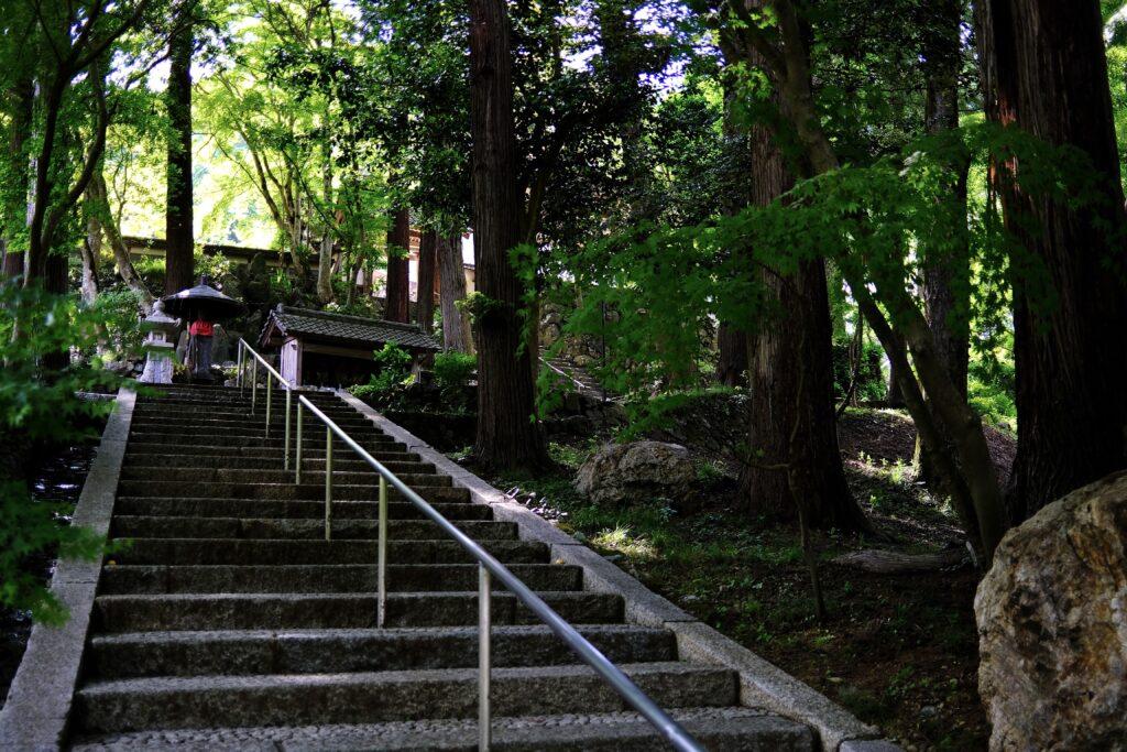 福知山十景 長安寺