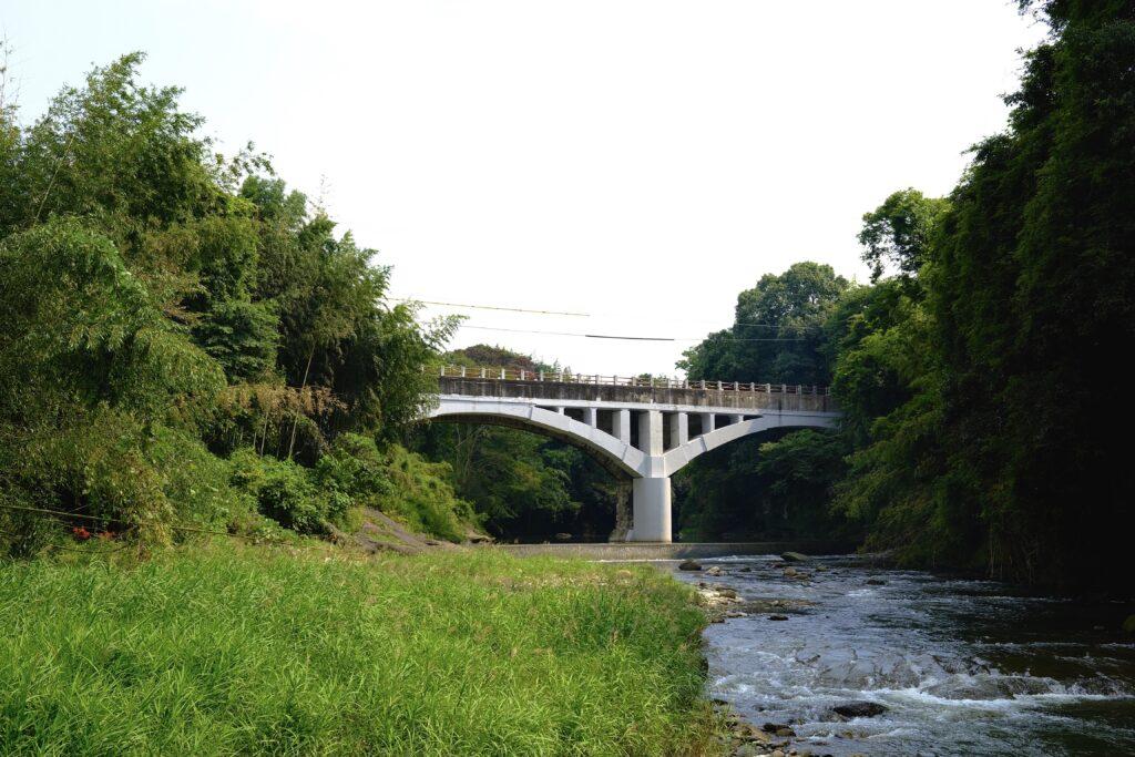 リニューアル後の御坂サイフォン橋