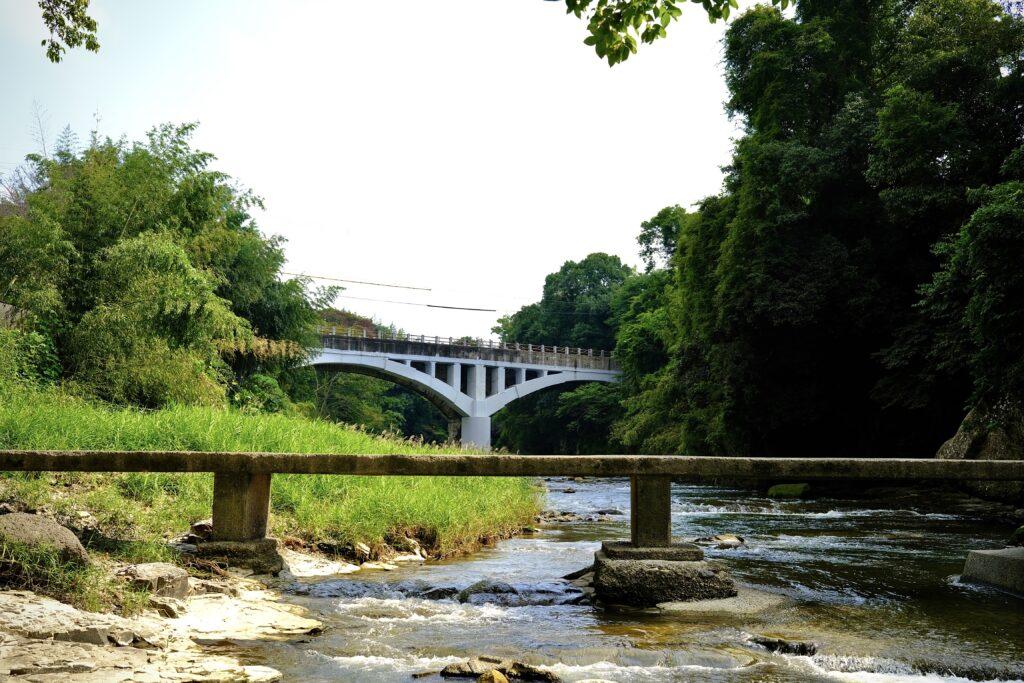眼鏡橋と沈下橋
