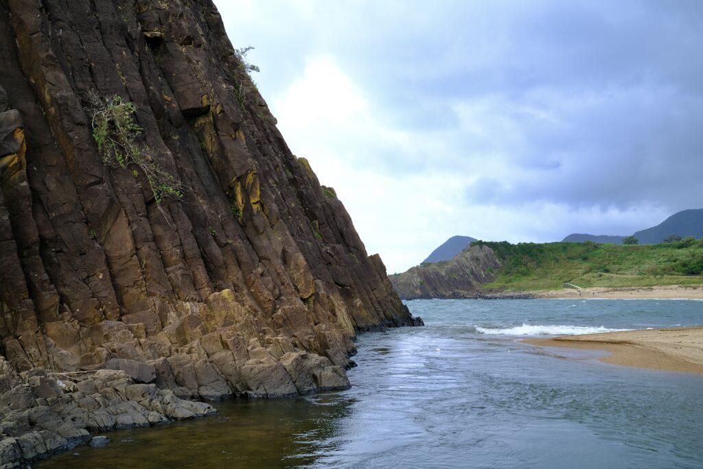山陰海岸ジオパーク 立岩