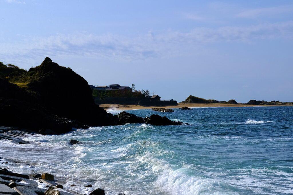 日本海 後ヶ浜海岸